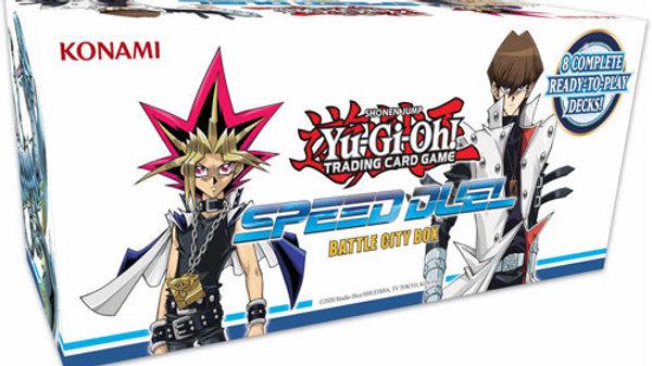 YUGIOH SPEED DUEL: BATTLE CITY BOX