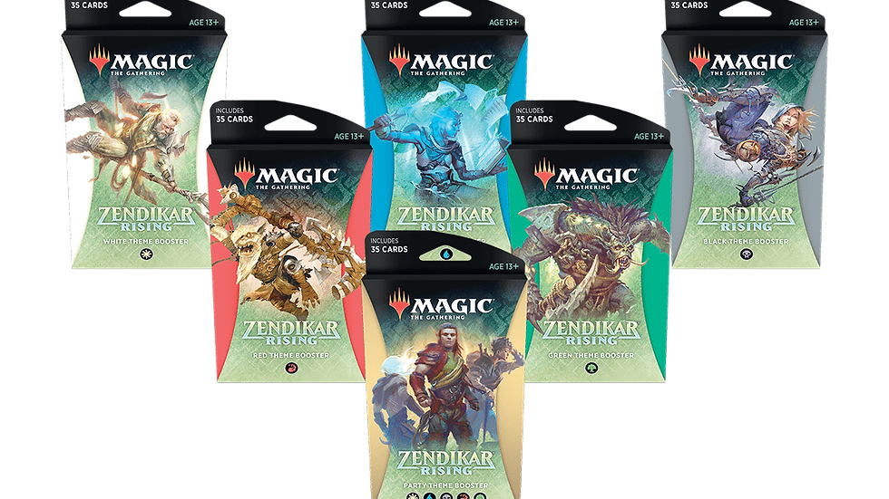 Zendikar Rising Theme Boosters