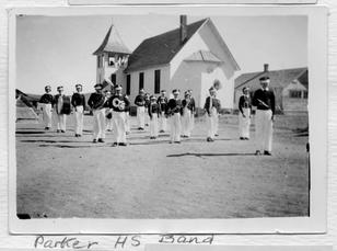 Parker High School Band and Ruth Memorial Chapel, n.d.