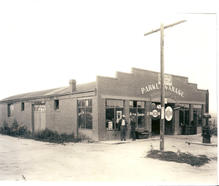 Parker Garage in 1916