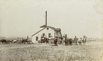 Parker Creamery in 1897
