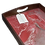 Thumbnail: Serving Tray with Red & Silver Swirl