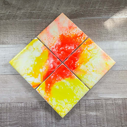 Sun Kissed - Table Coaster Set