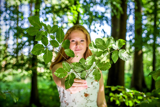 Neues Outdoor-Shooting - im Wald