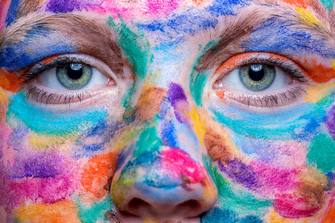 Spontanes Farbenshooting