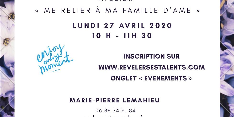 Atelier en ligne «Me reconnecter à ma Famille d'Âme» Guidance Collective Personnalisée