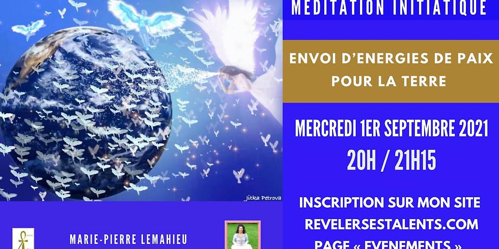 Méditation «envoi d'énergie de paix pour la terre»