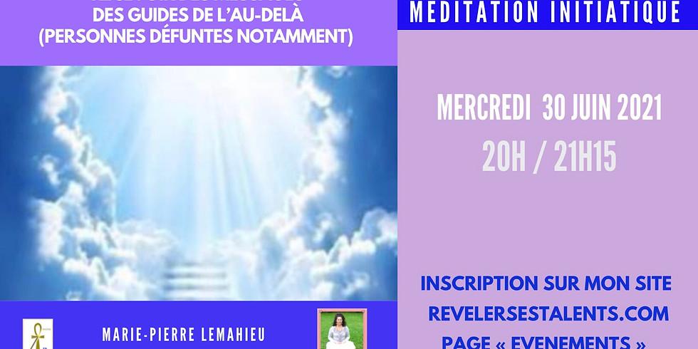 Méditation initiatique«recevoir des messages des guides et âmes défuntes»