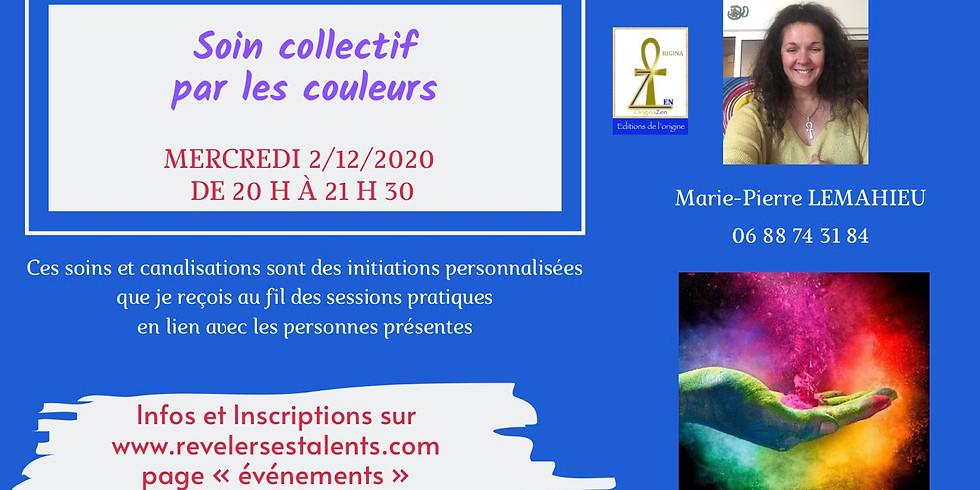 Méditation du mercredi soir «Soin collectif et individuel par les couleurs»