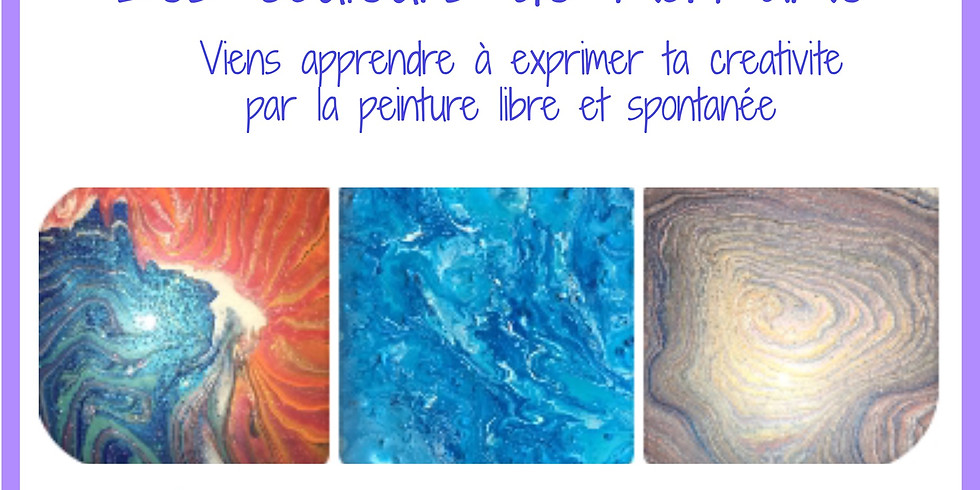 Ateliers mensuels «les couleurs de mon âme»