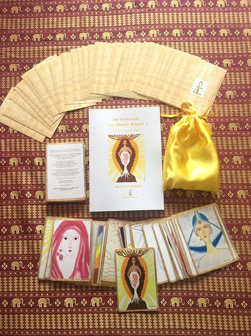 Jeu de cartes «le féminin originel» 18 x 25,5 cm