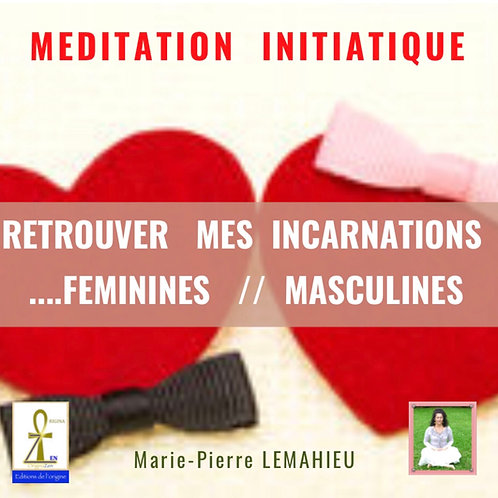 CD «retrouver mes incarnations féminines et masculines»