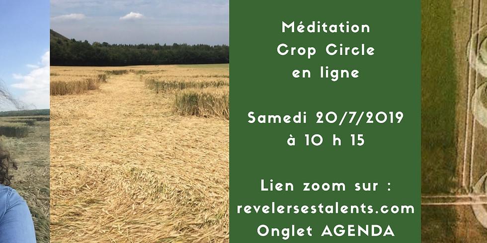 Méditation Crop Circle en ligne