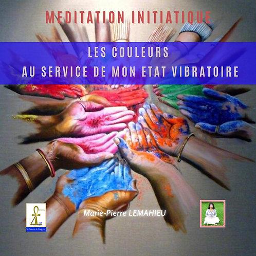 CD Méditation «les couleurs au service de nos vibrations»