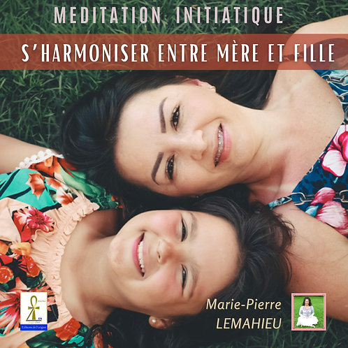 CD S'harmoniser entre mère et fille