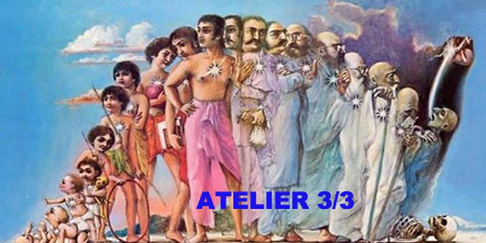 """ATELIER 3 """"Mon arbre de vie Karmique"""""""