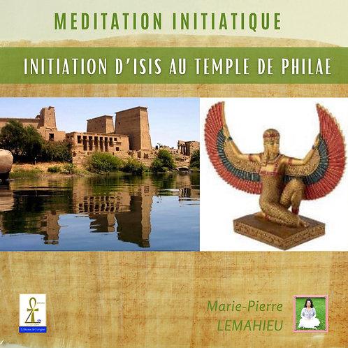 CD de méditation « initiation par Isis au temple de Philae»