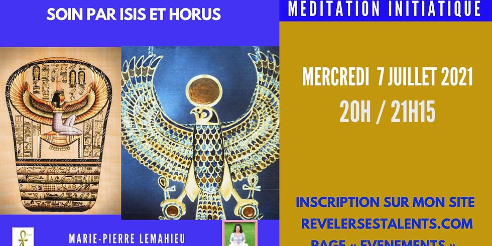 Méditation initiatique «Soins par ISIS et HORUS»