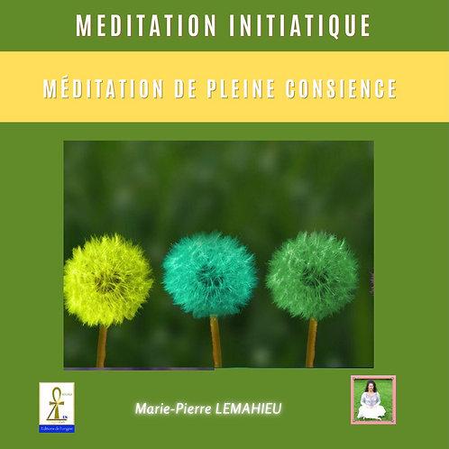 CD de méditation «méditation de pleine conscience»