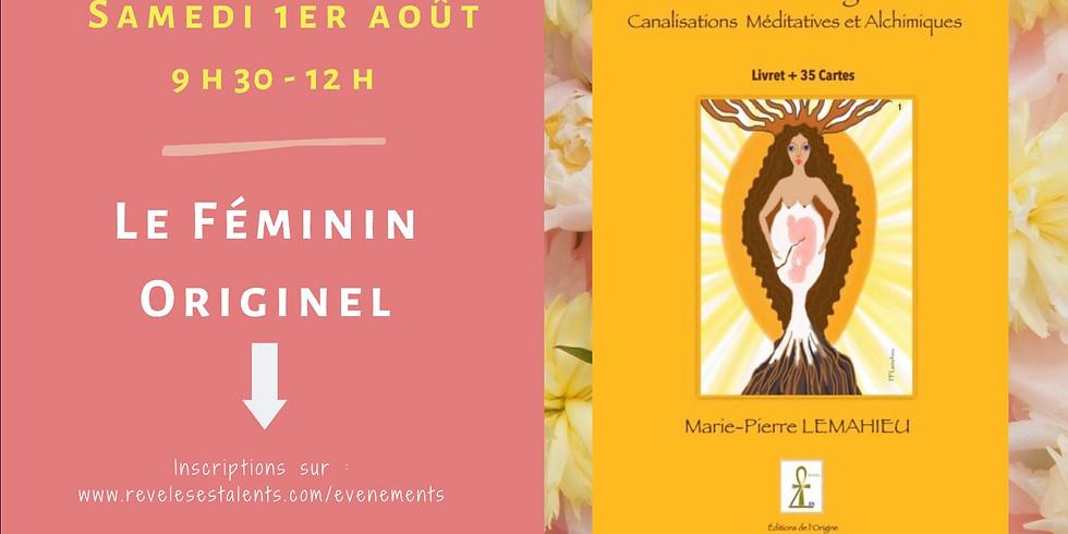 réservation gratuite pour l'atelier du féminin originel à estrée Cauchy