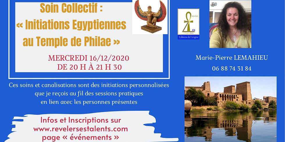 Initiations égyptiennes au temple de Philae