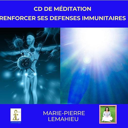 CD de méditation «renforcer ses défenses immunitaires»