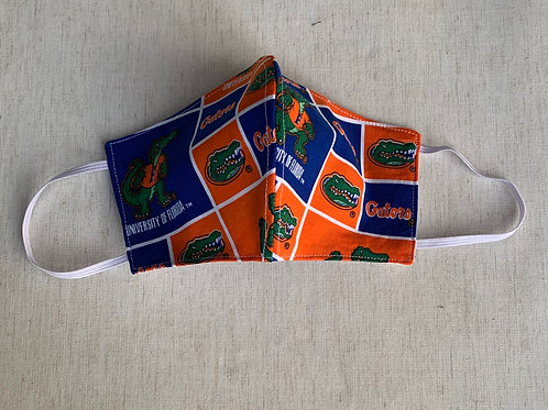 University of Florida Gators Orange Face Mask