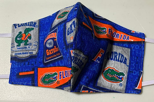 Vintage Florida Gator Face Mask