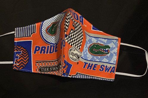 Florida Gator Patch Logo Face Mask