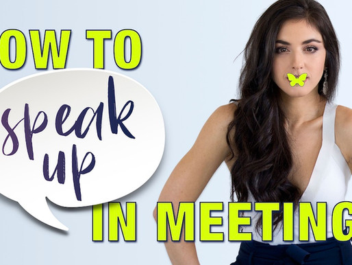 Ep.1 How to Speak-Up in Meetings