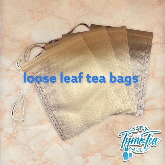 Loose leaf filter tea bags (10 bags)