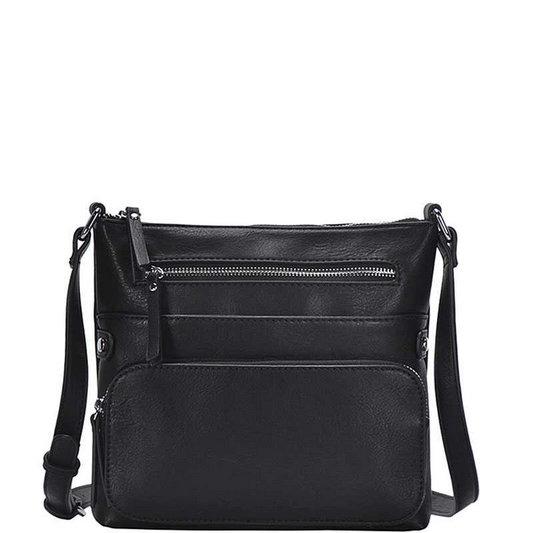 Modern Cross Body Bag in Black