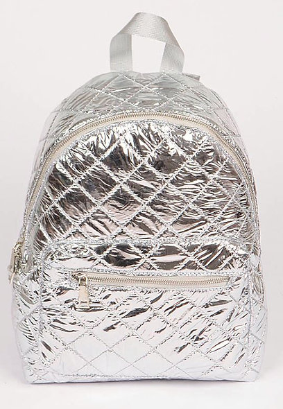 Silver Glimmer Backpack