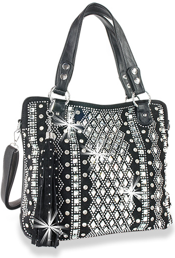 Dazzling Bling Pattern Tall Tote