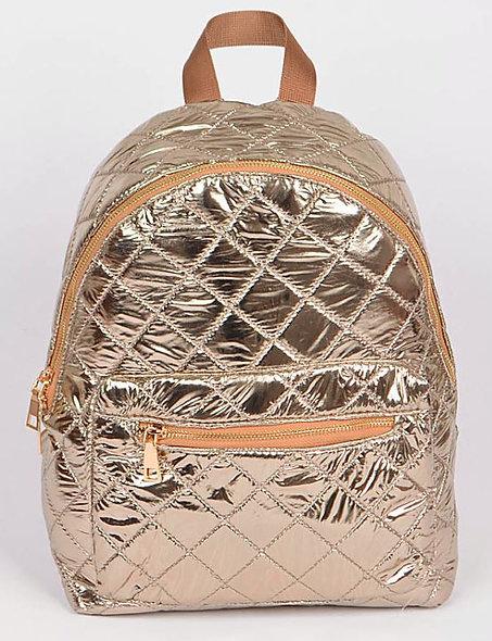 Golden Glimmer Backpack
