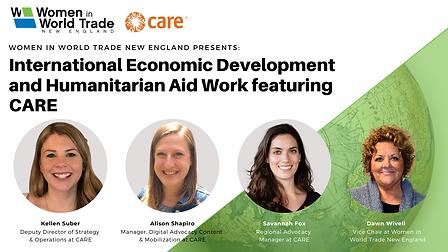 International Economic Development and Humanitarian Aid Work Copy