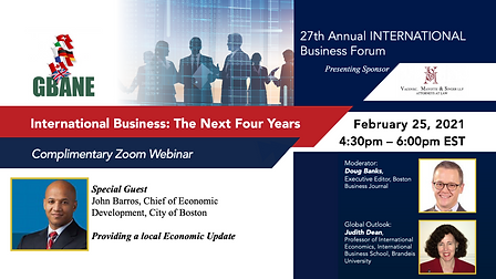 27th Annual International Business Forum and Networking Event Copy