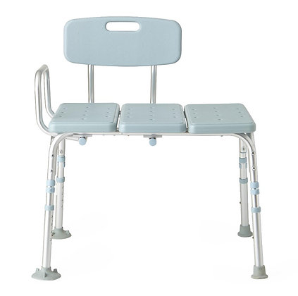 Tub Transfer Bench with Microban Antimicrobial Protection