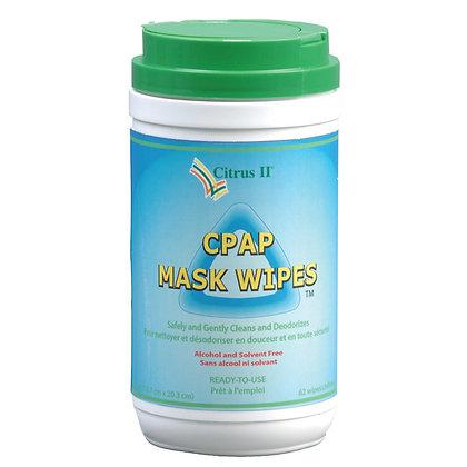 Citrus II CPAP Wipes