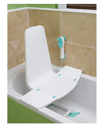Splash Bath Lift with Ultra-Compact Design and Remote Control