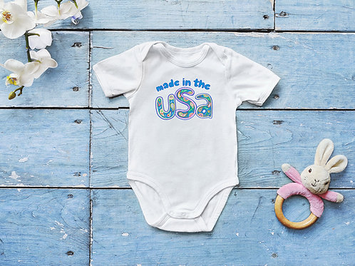 Made in the USA Baby Onesie