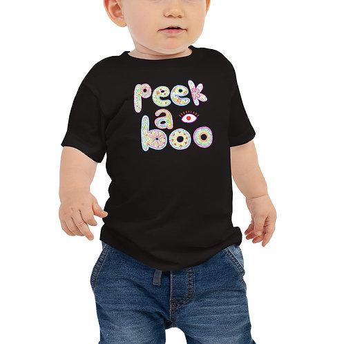 Peek-a-Boo Baby Tee