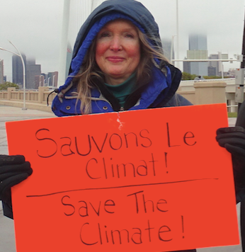 Molly Rooke Global Climate March solidar