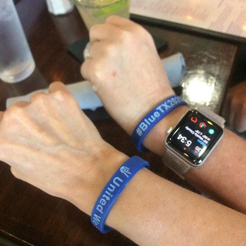 #BlueTX2020 Wristband