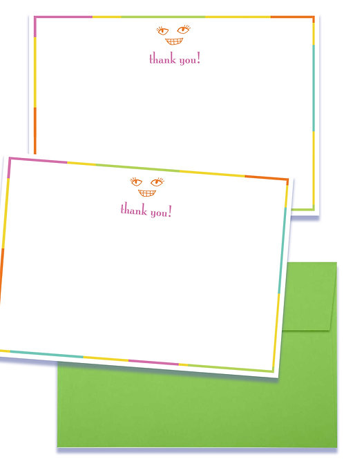 Thank You set of 5 notecards