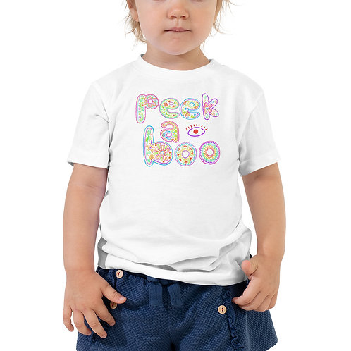 Peek-a-Boo Toddler Tee
