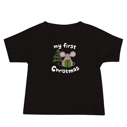 First Christmas Baby Tee