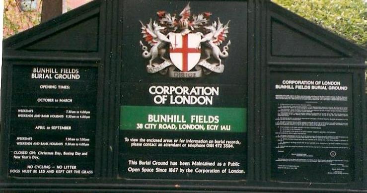 Bunhill Fields