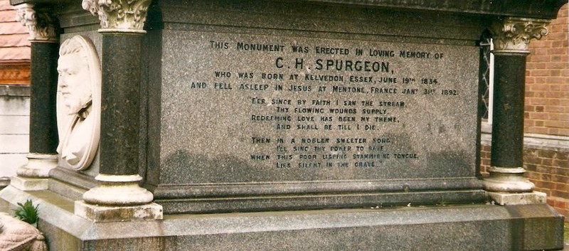 Spurgeon's Tomb