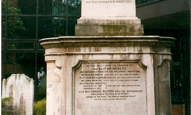 John Wesley's Tomb